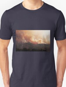 Black Bart Wildfire near Lake Mendocino Unisex T-Shirt