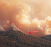 Black Bart Wildfire near Lake Mendocino Sticker