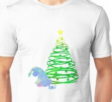 Christmas Donkey Inspired Silhouette Unisex T-Shirt