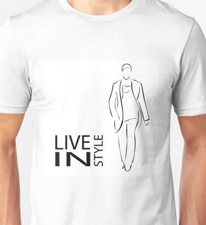 Stylish men Unisex T-Shirt