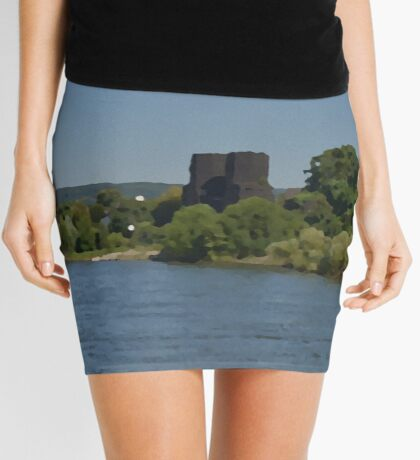 The Bridge At Remagen Mini Skirt