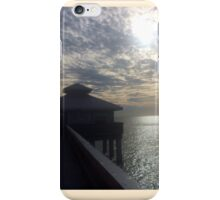 Florida pier  iPhone Case/Skin