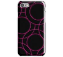 Fractal glowing background  iPhone Case/Skin