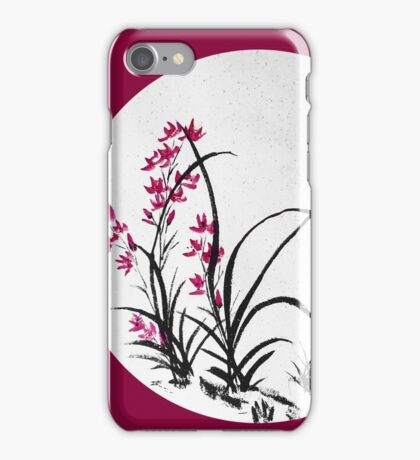 Red Iris iPhone Case/Skin