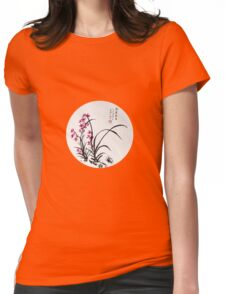 Red Iris Womens Fitted T-Shirt