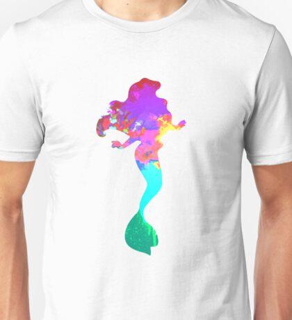 Mermaid Inspired Silhouette Unisex T-Shirt