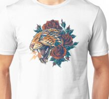 Ornate Leopard (Color Version) Unisex T-Shirt