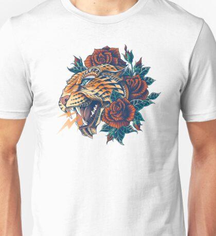 Ornate Leopard (Color Version) Unisex T-Shirt