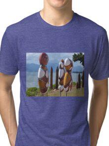 Beachfront people ,Cardwell , North Queensland Tri-blend T-Shirt