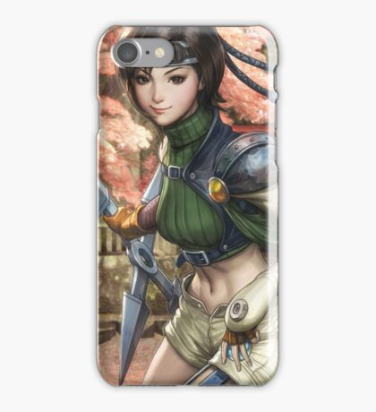 Yuffie Final Fantasy iPhone Case/Skin