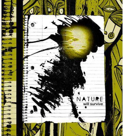 nature will survive Sticker
