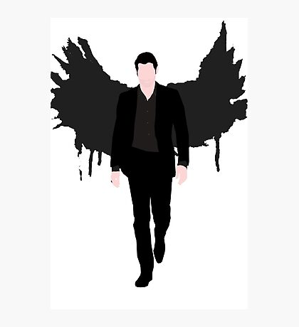 Lucifer Morningstar Photographic Print