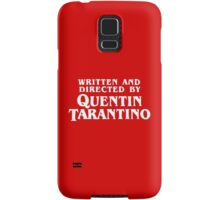 Written and directed by Quentin Tarantino Samsung Galaxy Case/Skin