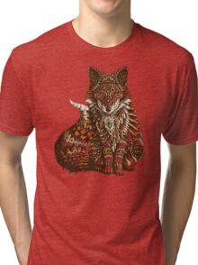 Red Fox (Color Version) Tri-blend T-Shirt