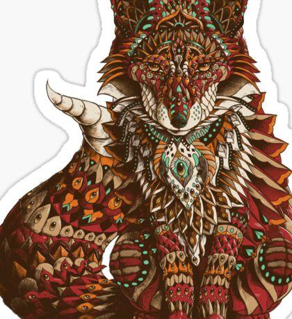 Red Fox (Color Version) Sticker