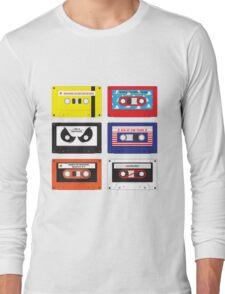 Cassettes Soundtracks Long Sleeve T-Shirt