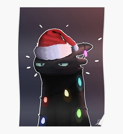 Toothless Christmas Unamused Poster