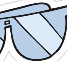 cartoon glasses Sticker