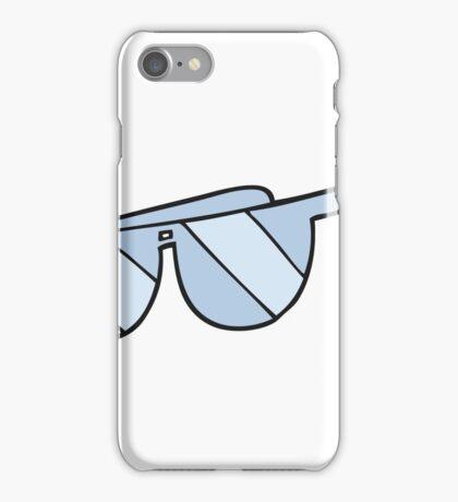 cartoon glasses iPhone Case/Skin