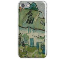 Farmhouse Auvers-sur-Oise, May - June 1890 Vincent van Gogh  iPhone Case/Skin