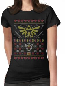 Ugly Legendary Sweater Womens Fitted T-Shirt