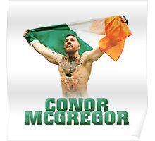 Conor McGregor - Flag Poster
