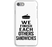 Sandwiches iPhone Case/Skin