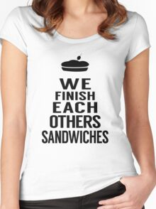 Sandwiches Women's Fitted Scoop T-Shirt