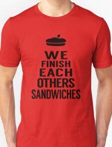 Sandwiches Unisex T-Shirt