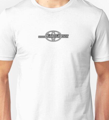Toyota and Landcruiser Logo Unisex T-Shirt
