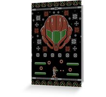 Ugly Samus Sweater Greeting Card