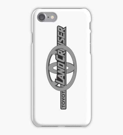 Toyota and Landcruiser Logo Side iPhone Case/Skin