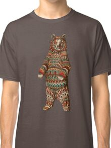 Ornate Grizzly Bear (Color Version) Classic T-Shirt