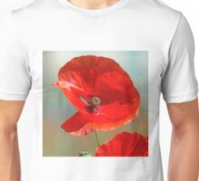 A poppy from the Somme Unisex T-Shirt