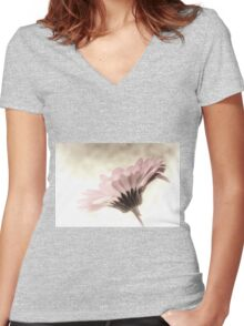 Fading Inspiration Women's Fitted V-Neck T-Shirt
