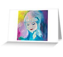 Beautiful Aura Greeting Card