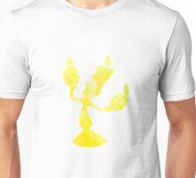 Candelabra Inspired Silhouette Unisex T-Shirt