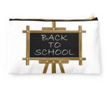 Back to school easel board  Studio Pouch