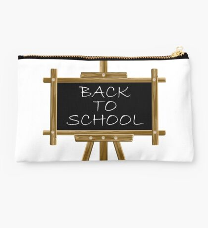Back to school easel board  Studio Pouch