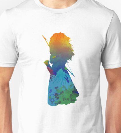 Princess Inspired Silhouette Unisex T-Shirt