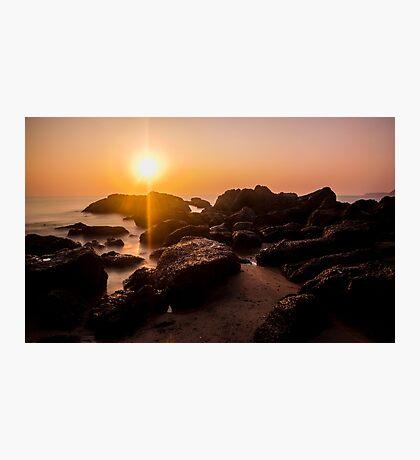Sunset in Goa II Photographic Print