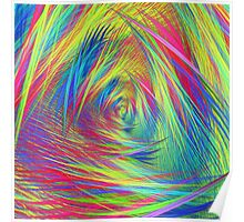 Forma 3 chaos continuous #fractal art Poster