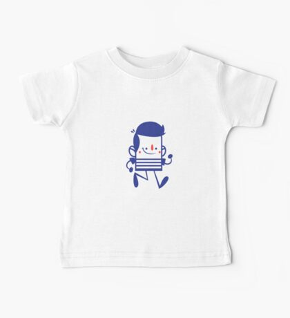 Funny Lovely Cartoon Vector Graphic Animinated Baby Tee