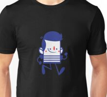 Funny Lovely Cartoon Vector Graphic Animinated Unisex T-Shirt
