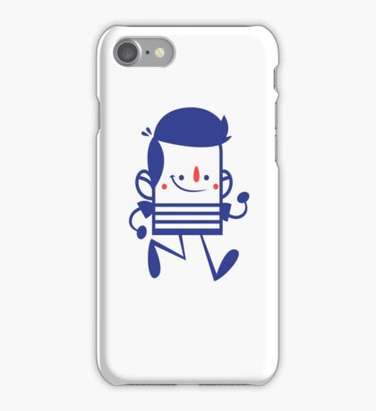 Funny Lovely Cartoon Vector Graphic Animinated iPhone Case/Skin