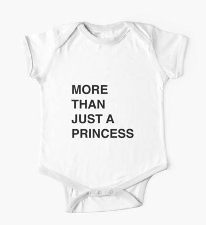 More than just a princess One Piece - Short Sleeve