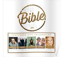 The Bible Tour 2016 Poster