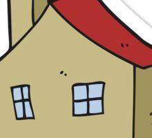 cartoon house Sticker