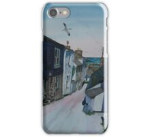 """From Hill to Harbour"" - Port Isaac, Cornwall iPhone Case/Skin"