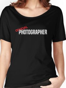 Official Photographer Funny Women's Relaxed Fit T-Shirt